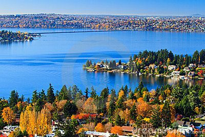 Colors of Fall - Bellevue, Washington