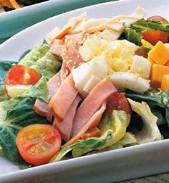 Recipes from The Nest - Lean Chef's Salad
