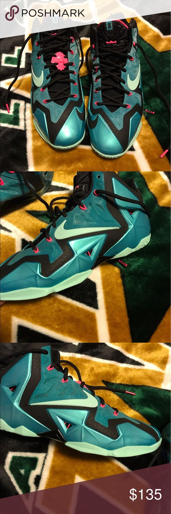 Nike Lebron 11 - South Beach Brand New, Never Worn Nike Shoes Athletic Shoes