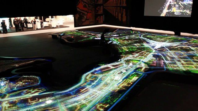The 1:2000 scale, 23 x 17 metre model of Abu Dhabi Metropolitan Area covers 678 sq km and includes all major development areas and communities in the UAE capital. The model is digitally animated using 16 projectors mounted overhead, and a series of touchscreens allow visitors to interact with the model by lighting up areas and projects. Commissioned by the Abu Dhabi Urban Planning Council in 2008, it was built by Pipers over a period of 18 months and was first unveiled at Cityscape Abu Dhabi…