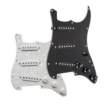 Sólo €11.43, compra mejor Guitarra cargada de montaje golpeador sss reemplazo de pastillas para el guardabarros venta en línea en pricio del wholesale. Almacén de EE.UU./UE.