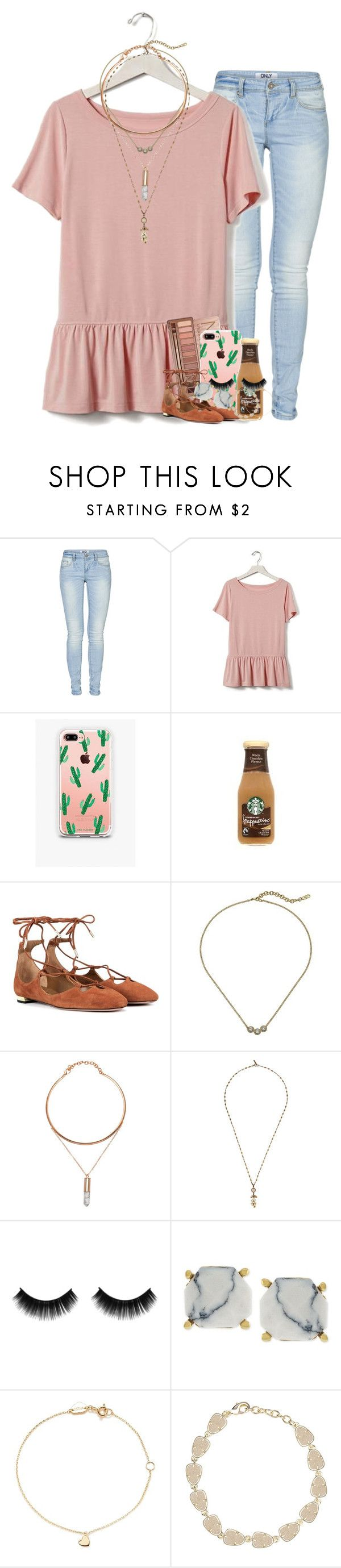 """baby we were born with fire & gold in our eyes."" by ellaswiftie13 ❤ liked on Polyvore featuring ONLY, Banana Republic, Urban Decay, The Casery, Aquazzura, Cole Haan, Isabel Marant, Vince Camuto, Estella Bartlett and Kendra Scott"