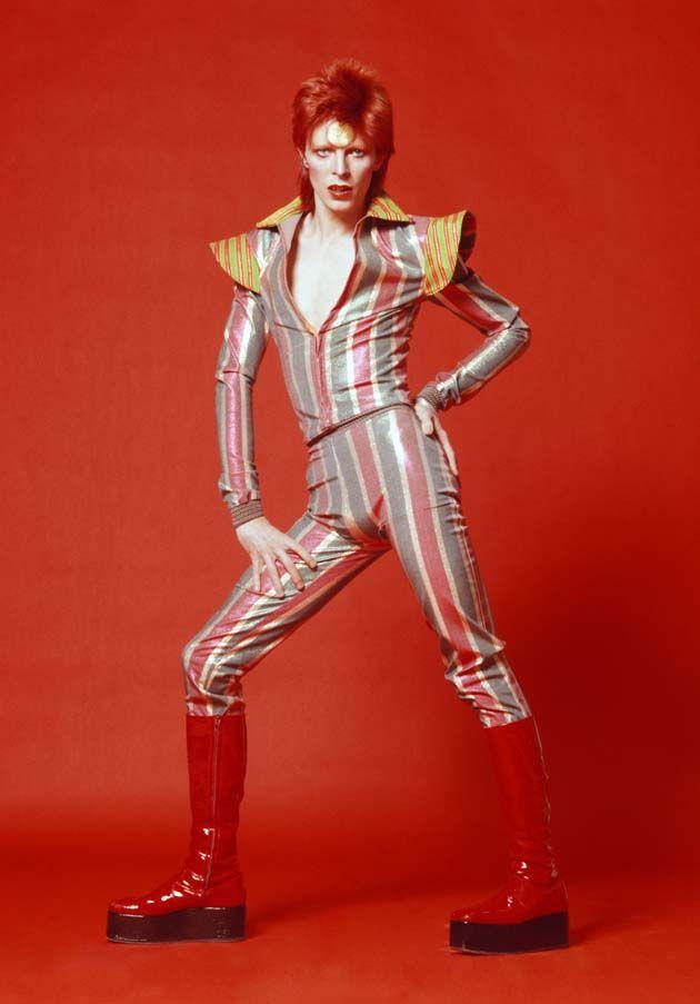 David Bowie, 1973.                                                                                                                                                     Plus
