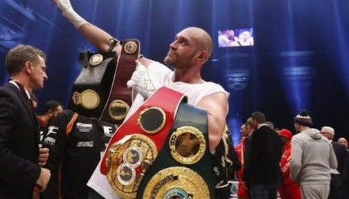 Tyson Fury beats Klitschko to become new world heavyweight champion - http://www.thelivefeeds.com/tyson-fury-beats-klitschko-to-become-new-world-heavyweight-champion/