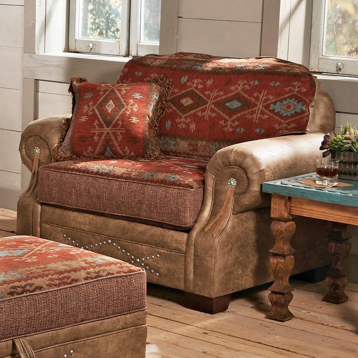 Ranchero Southwestern Chair and a Half