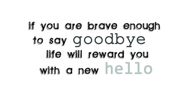 Iv said goodbye to the one who broke my heart, and said hello to someone who is mending my heart back together ❤ this is truly a quote that tells my life story