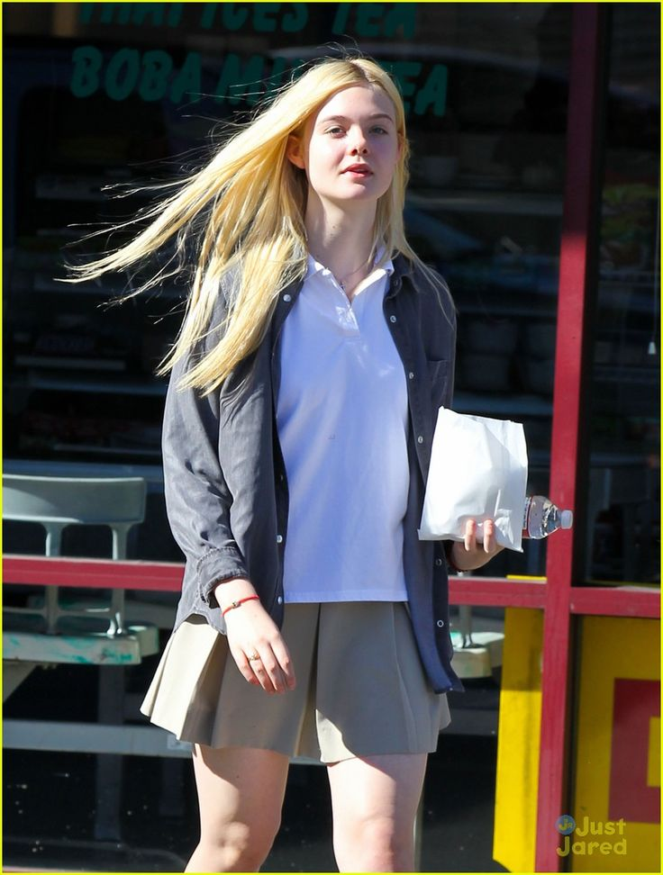 elle fanning sugar rush 11, Elle Fanning picks up a yummy, sugary treat on Tuesday afternoon (November 13) in North Hollywood, Calif.    The 14-year-old actress stopped by K's Donut Emporium…