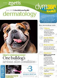 The dvm360 dermatology toolkit: Use these free tools to train your team and educate veterinary clients about dermatology issues in pets - Veterinary dermatology - dvm360