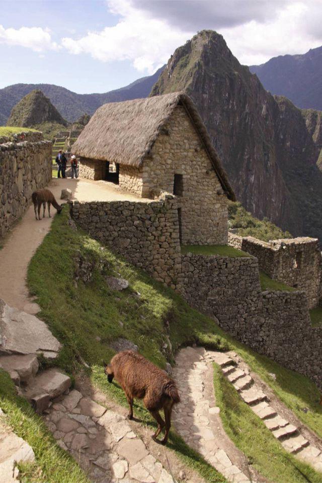 Machu Picchu looking very painterly