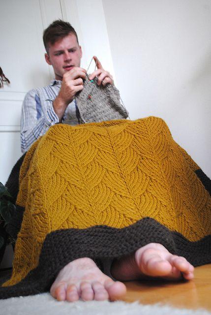 """Brickstreet pattern by Stephen West Looks just like the Zentangle (R) pattern """"Shattuck."""""""