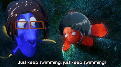 Attack on titan. Finding Nemo. My goodness lol X3