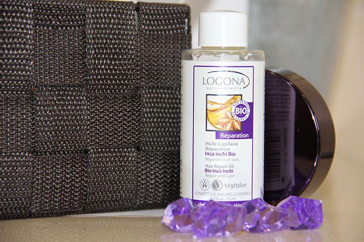 Aceite capilar Logona Inca Inchi bio. Repara el cabello y cuero cabelludo dañado. Sus ingredientes naturales evitan el encrespamiento y sellan las puntas abiertas.