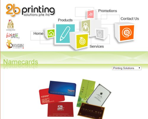 Best Quality Business card printing in Singapore.