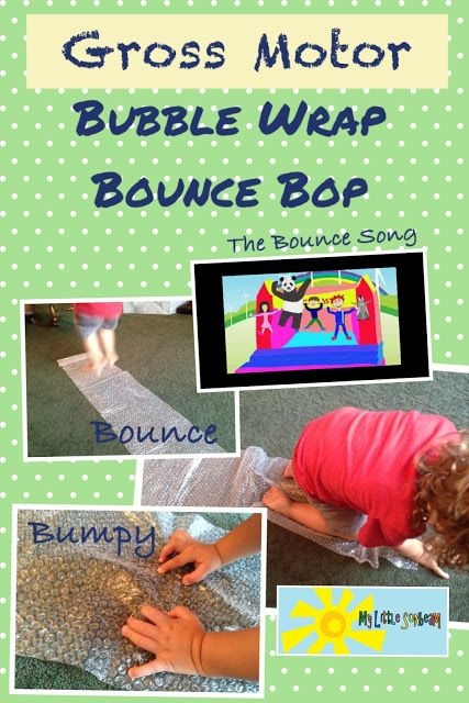 28 best images about bubble wrap sensory fun on pinterest for Gross motor activities for preschoolers