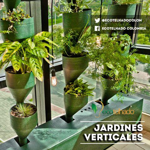 jardines verticales- muros vivos  Jardines Verticales ...