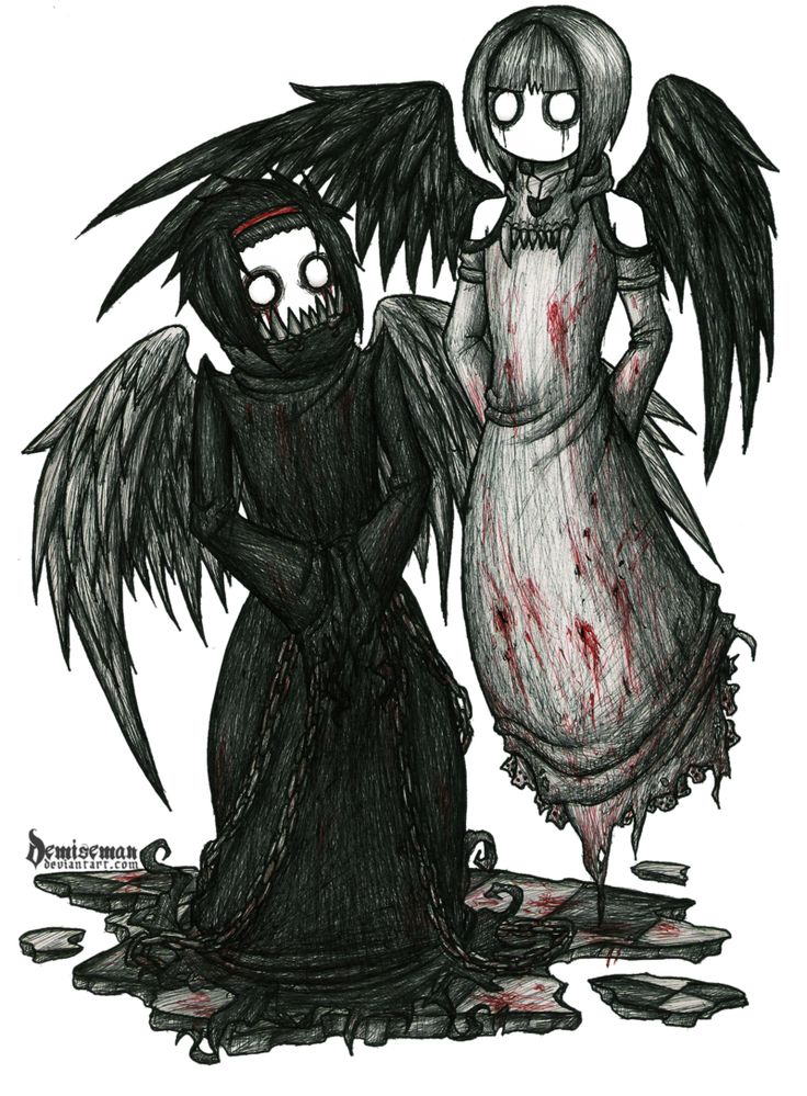 Zetes and Calais by DemiseMAN   Angels and Demons   Emo ...