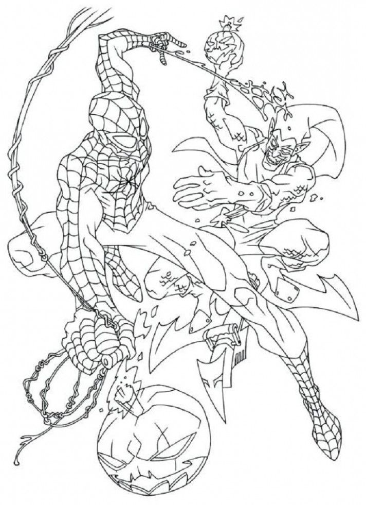 Never Underestimate The Influence Of Spiderman Goblin Coloring Pages Coloring Cartoon Coloring Pages Coloring Pages Spiderman Coloring