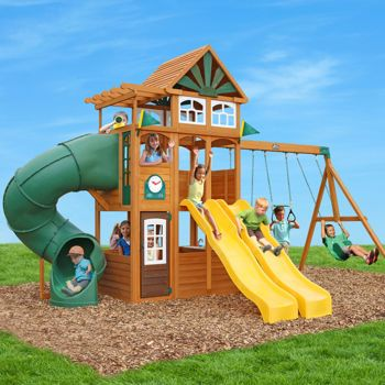 Cedar Summit Spring Valley Deluxe Playset Do It Yourself