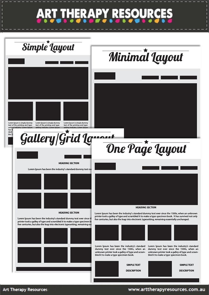 FREE Website Layout Guide to print and use to help create your website layout.