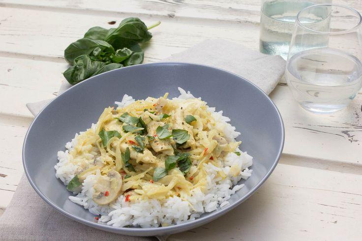 Recept voor overheerlijke curry met verse kruiden