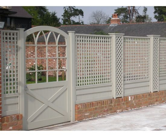 love this gate and trellis