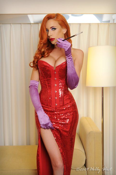 Jessica rabbit costume idea                                                                                                                                                                                 More