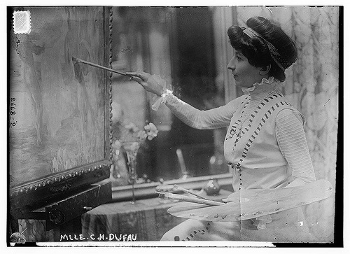 Clémentine-Hélène Dufau by The Library of Congress, 1913.