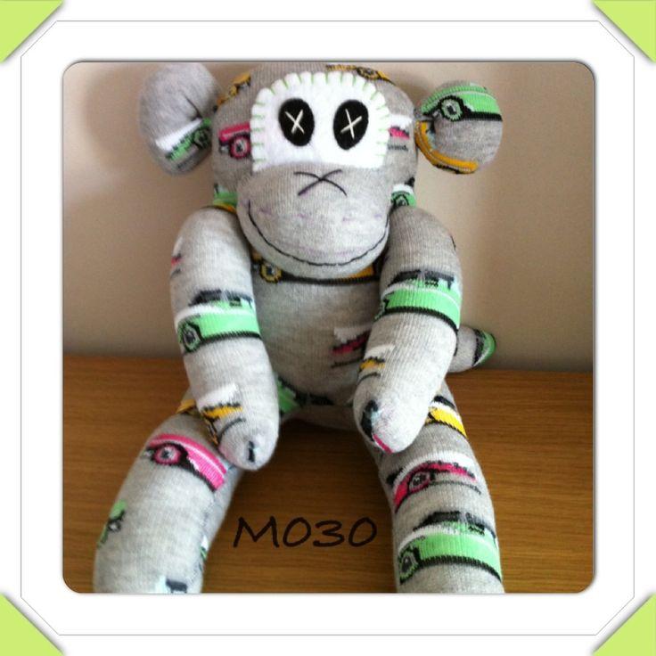 Sock monkey - The Supermums Craft Fair