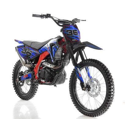 Apollo 250cc dirt bike blue
