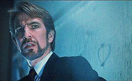 """""""Dᴏɴ'ᴛ. Lɪᴇ. Tᴏ ᴍᴇ."""", prettynerdieworks:   ♛ALAN RICKMAN as HANS GRUBER..."""