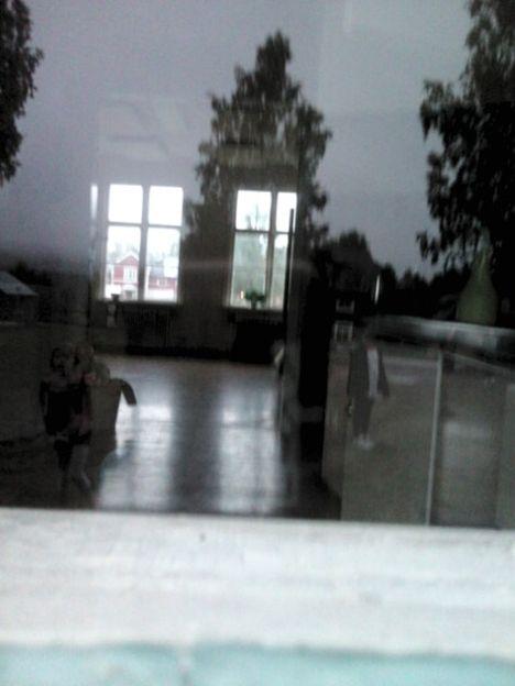 Spökbild fotograferad i Arnemark