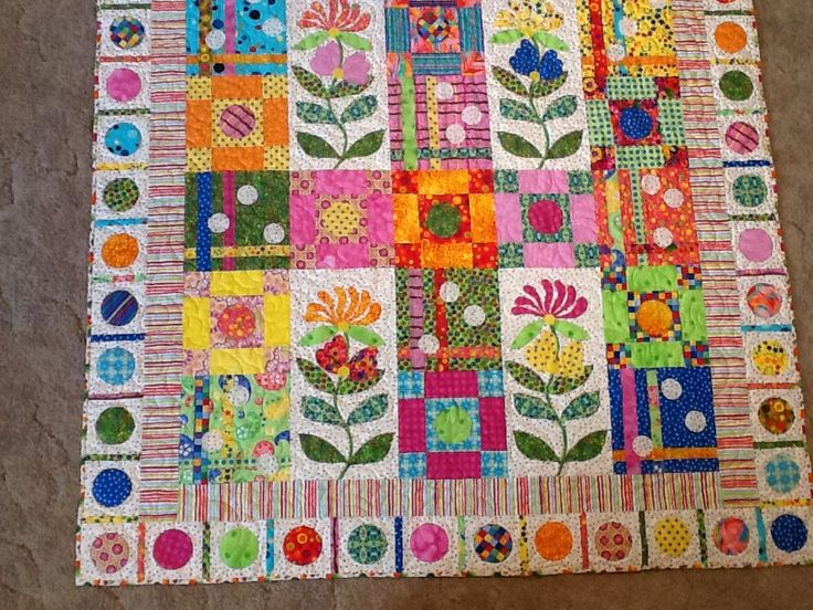 53 best Bright Quilts images on Pinterest | Beautiful, Bethlehem ... : bright quilts - Adamdwight.com