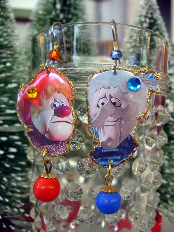 Heatmiser and Freezemiser from Year Without a Santa Claus - reminds me of my husband and his brother!
