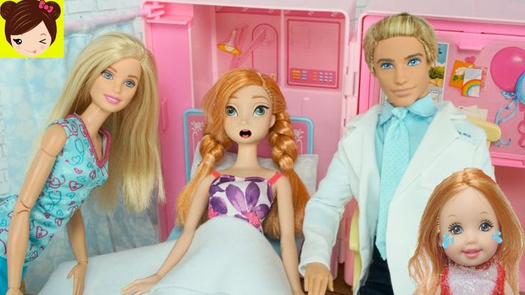 ... va al hospital con Doctora Barbie y Ken - <b>Juguetes de Titi</b> - YouTube