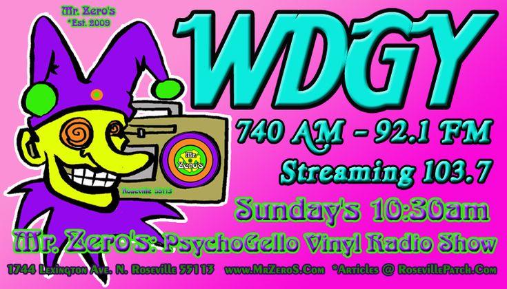 WDGY 740am Sunday's 10:30am