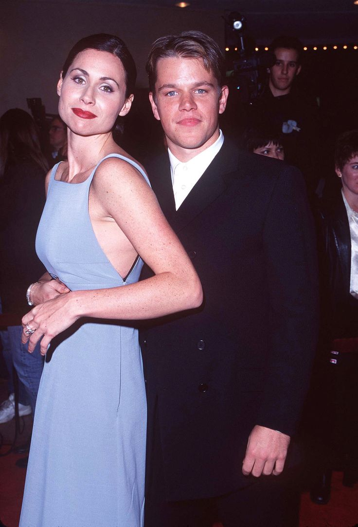 Minnie Driver and Matt Damon, 1997