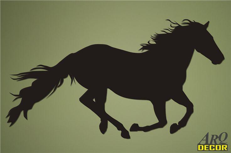 Pracownia Dekoracji ARQ - DECOR - Koń w galopie Nr 10 (NA ZAMÓWIENIE) dekoracje ścienne 3d