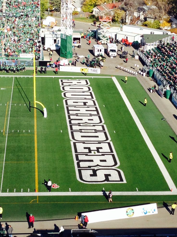 Saskatchewan Roughriders!