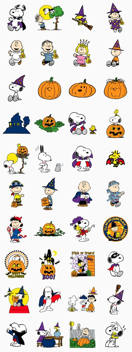 Snoopy Halloween Line Sticker - Rumors City