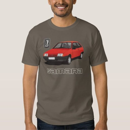 VAZ-2109 | Lada Samara | ВАЗ-2109, DIY, red  #lada #samara #vaz-2109 #sputnik #ВАЗ-2109 #russia #automobile #tshirt #red