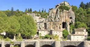 Balazuc, Village with outstanding character - Ardèche-Guide