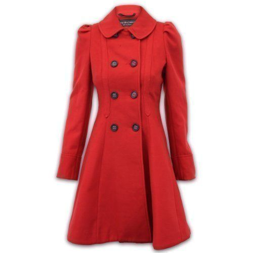 Ladies' Jacket/Coat WOL1209 Red 22 De la Crème http://www.amazon.co.uk/dp/B00G475GT8/ref=cm_sw_r_pi_dp_yZWjub09Q46WK