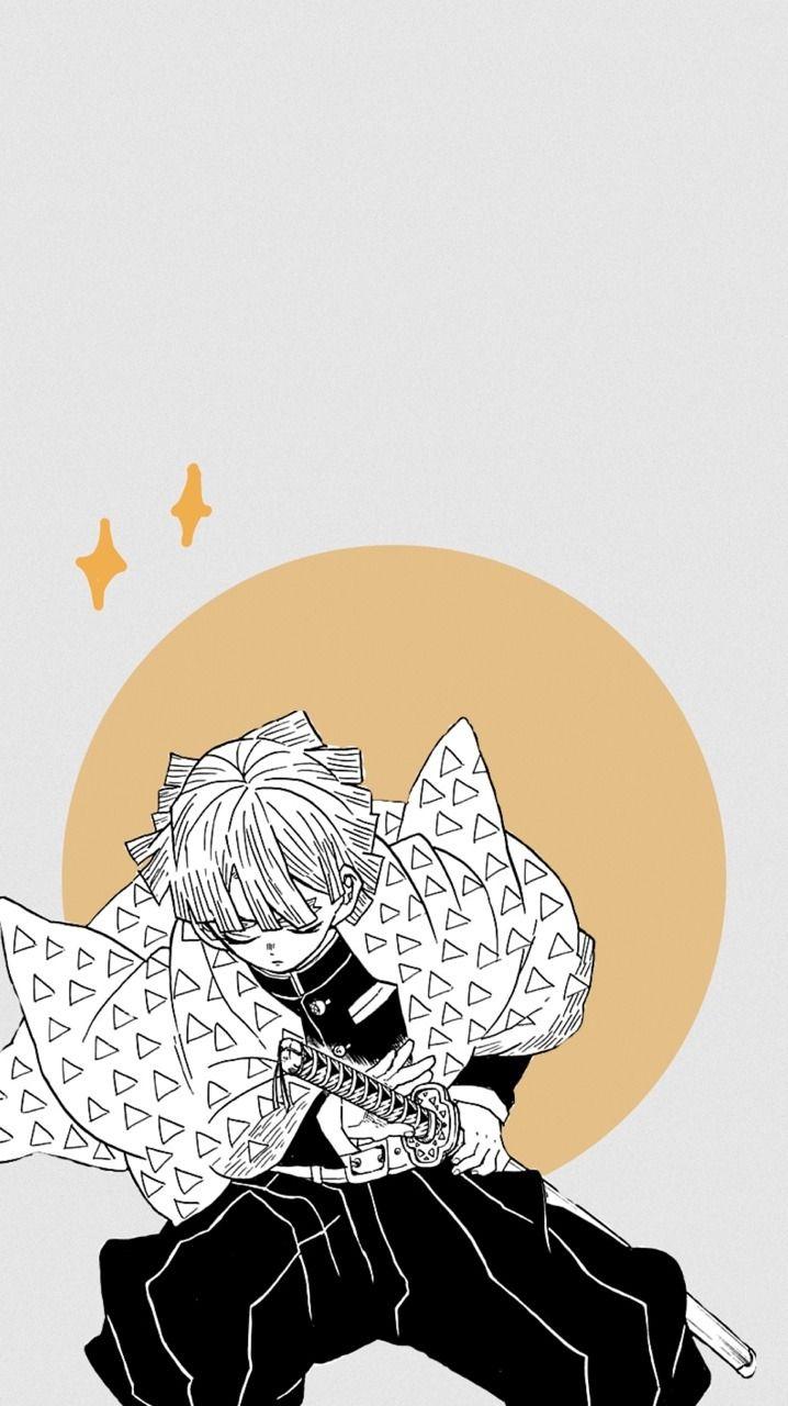 Zenitsu Agatsuma Wallpaper Like Reblog If Used Thanks Jeongulled Anime Wallpaper Anime Wallpaper Iphone Anime Demon