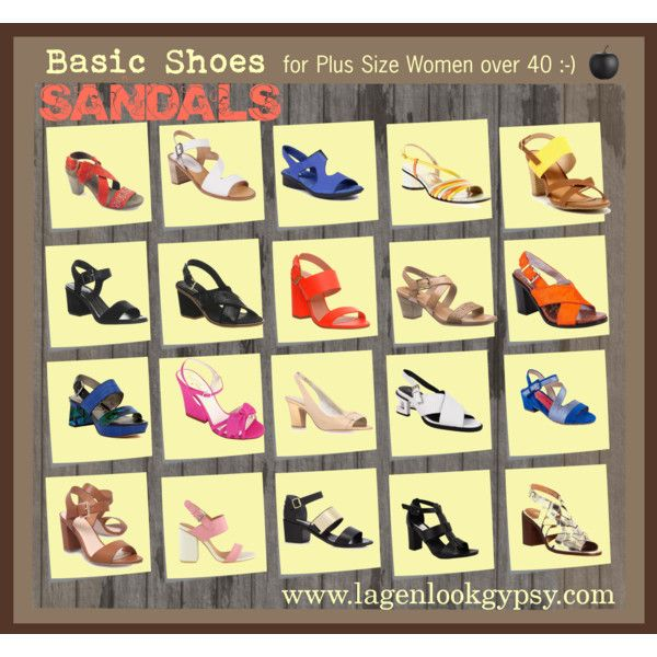 Basic Shoes for Plus Sizes over 40 - Sandals