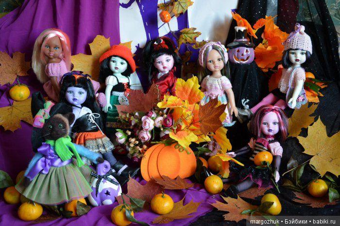 Новый год ещё нескоро, а Хэллоуин прошёл... / Paola Reina, Antonio Juan и другие испанские куклы / Бэйбики. Куклы фото. Одежда для кукол