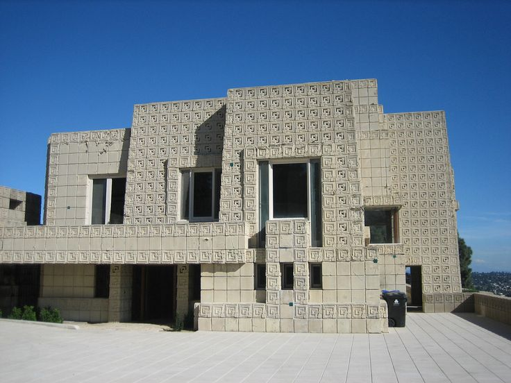 168 best images about ennis house frank lloyd wright on for Frank lloyd wright houses in california