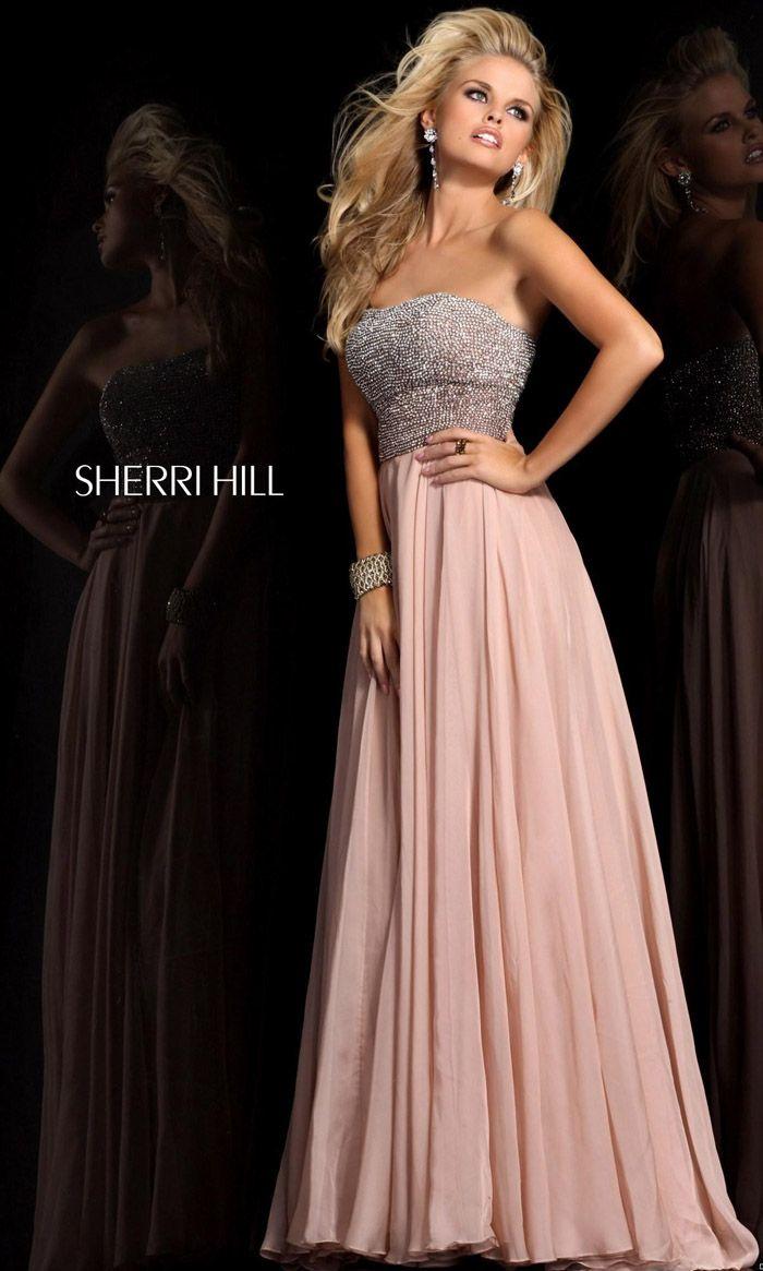 24 best Strapless Sherri Hill Prom Dresses images on Pinterest ...