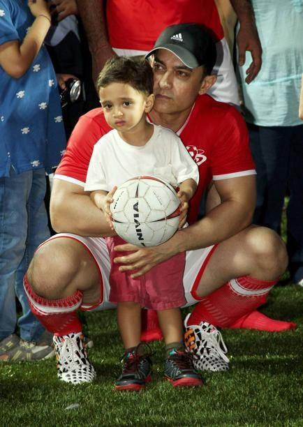 Aamir Khan With his Son | Veethi