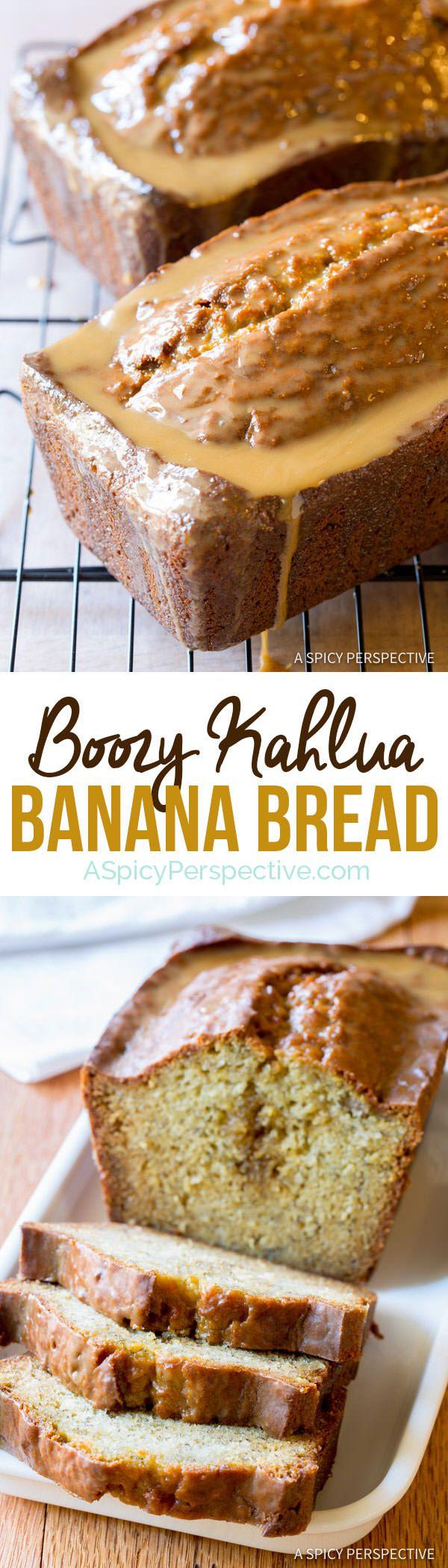 Dazzling Kahlua Banana Bread | ASpicyPerspective.com