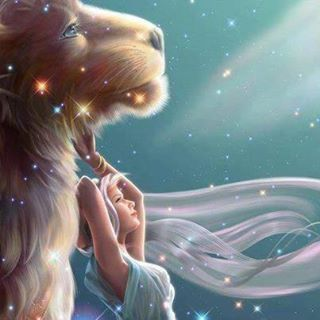 Summer Zodiacs....I love this art!  I feel like my strong protector is behind me at all times to help keep me safe and strong. The Lion is the Sun and his element is Fire. She is the Moon and  shines over her element of Water...  Together they soar through the constellation of stars.